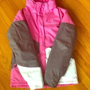 Columbia girl Omni-Tech waterproof down coat